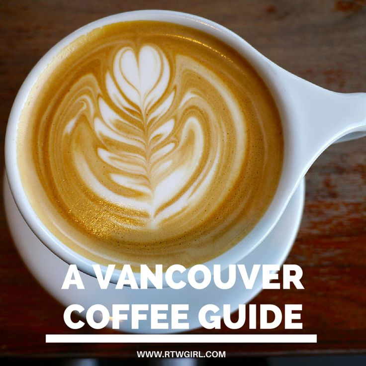 A guide to the best coffee shops in Vancouver, Canada