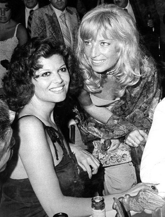 Claudia Cardinale con Monica Vitti