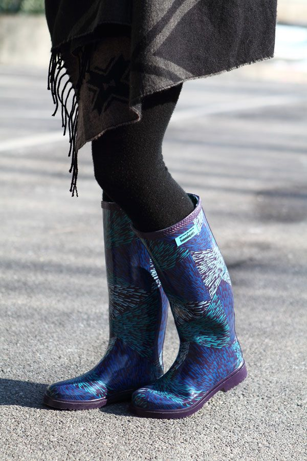 Stivali per la pioggia con lo stile di Havaianas
