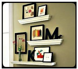 I love this look. If I can actually get access to crown molding SCRAPS, this will be great!