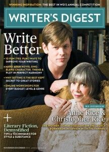 Writing Competition WINNERS from Writer's Digest!