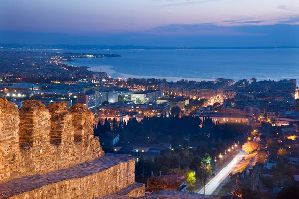 Σημείo της Θεσσαλονίκης