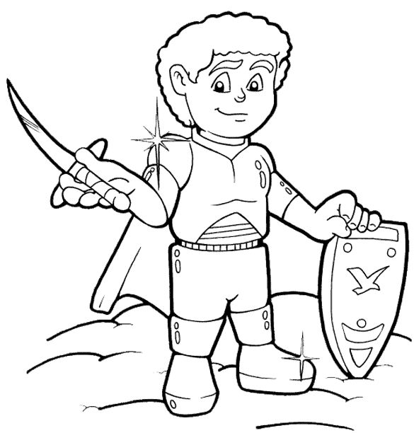Coloring Page - Armor of God