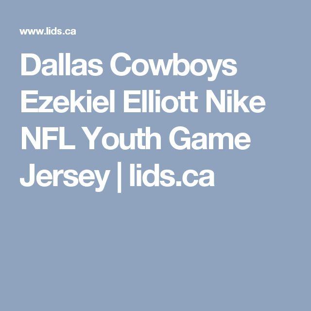 Dallas Cowboys Ezekiel Elliott Nike NFL Youth Game Jersey   lids.ca