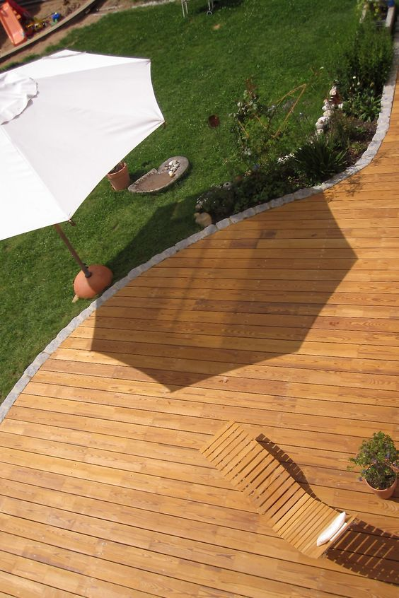 Más de 25 ideas increíbles sobre Holzterrasse selber machen en - gartenliege holz selbst gebaut