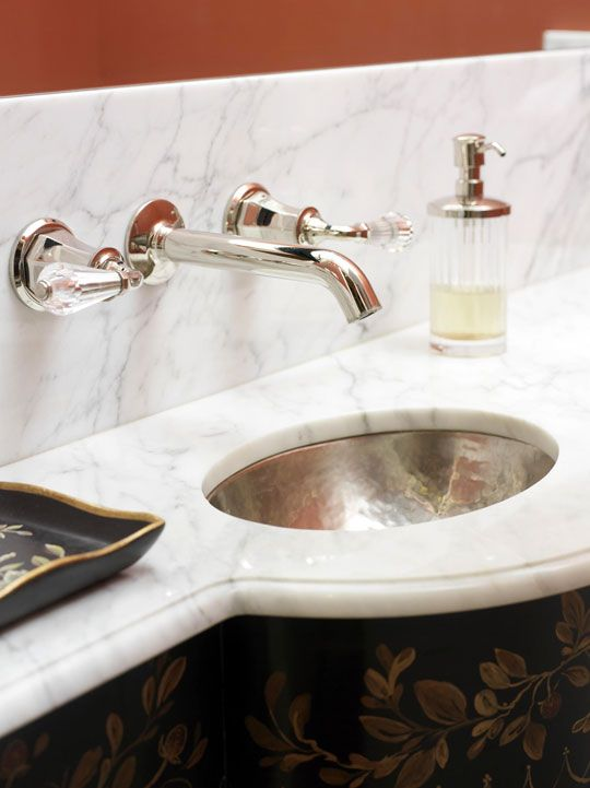 Decorating Bath Vanities Traditional Home Bathroom Ideas Pinterest Traditional Marble