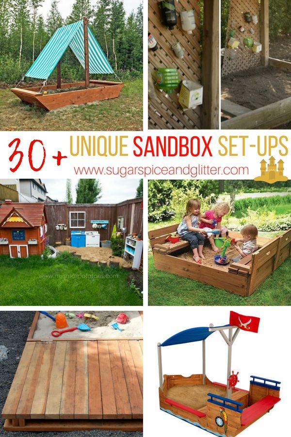 Unique Sandbox Ideas From Diy Sandbox Plans To Unique Sandboxes