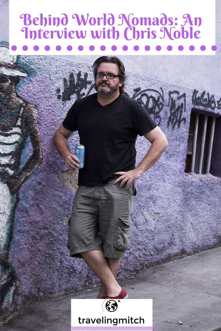 I caught up with Chris Noble, one of the original members of World Nomads about travel, insurance, and, of course, travel insurance. He chatted with me from #Australia!