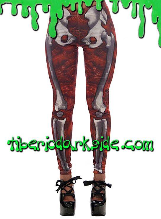 RED GORE SKELETON LEGGINGS  Terroríficos leggings con estampado de esqueleto en la parte frontal y acabado gore de Kreepsville 666. Muy elásticos, se adaptan al cuerpo, opacos y con impresión de alta calidad por sublimación. Materiales: 95% polyester, 5% elastán.  COLOR: ROJO TALLA: L  L - 72 a 80 cm de cintura, 95 a 105 cm de cadera (talla 42)