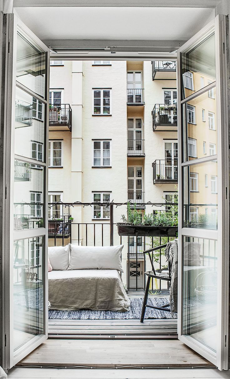 Lovely apartment in Stockholm with a fab terrace Daily Dream Decor
