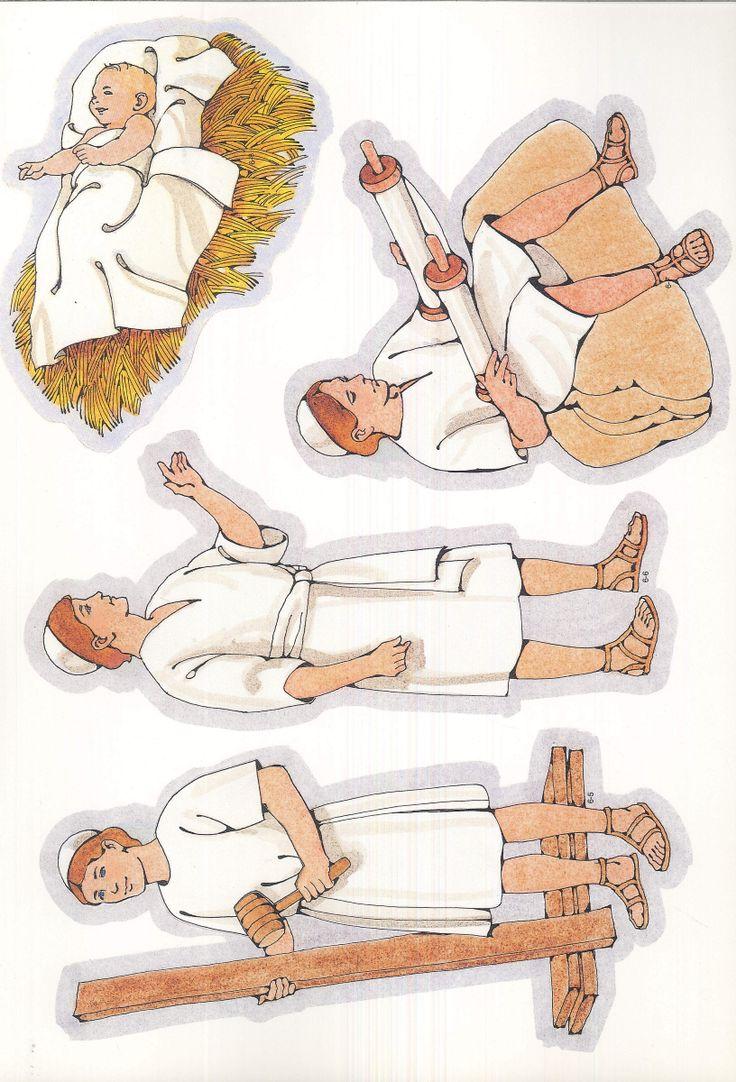 Flanelplaten Jezus als jongen / Primary Cutouts