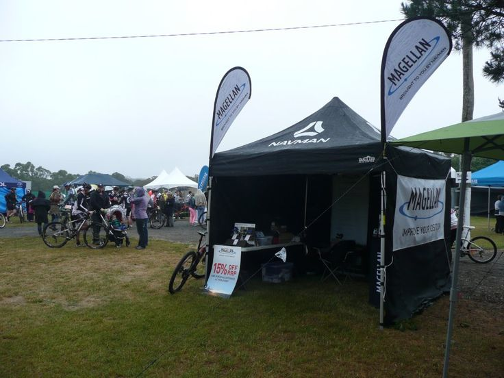 The Magellan Tent at the Highland Fling