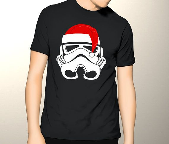 New Gildan T-Shirt Stormtrooper Cristmas Hat by CreativeIndonesia
