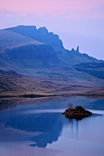 Dusk on the Isle of Skye, Scotland - The Old Man of Storr. Great Picture
