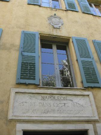 Ajaccio, France: Дом-музей Наполеона