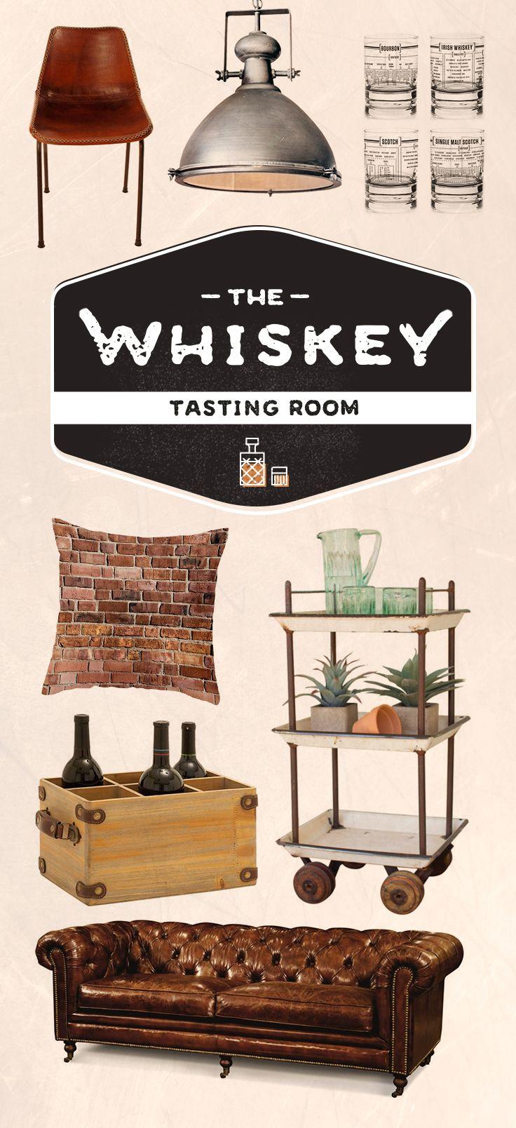 Babe's Future Man Cave: The Whiskey Tasting Room   dotandbo.com