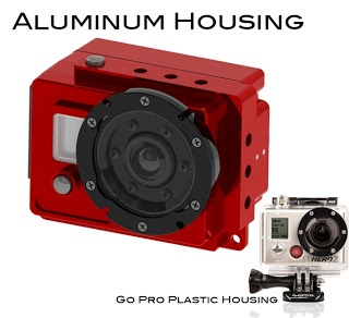 Aluminum GoPro Housing - Click To Watch The Video