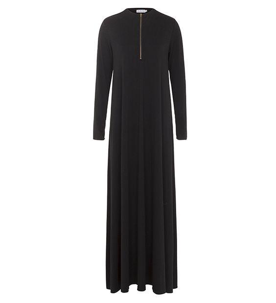 Black Abaya With Zipper - £49.99 : Inayah, Islamic Clothing & Fashion, Abayas, Jilbabs, Hijabs, Jalabiyas & Hijab Pins: