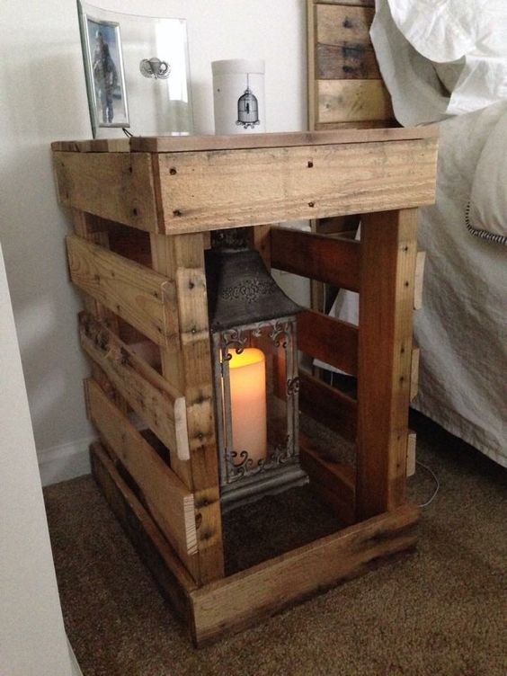 Best 25 nightstand ideas ideas on pinterest night for Diy night stand
