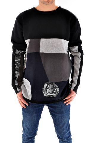 Bluza handmade pentru barbati, cod U3193, marca Different Cut