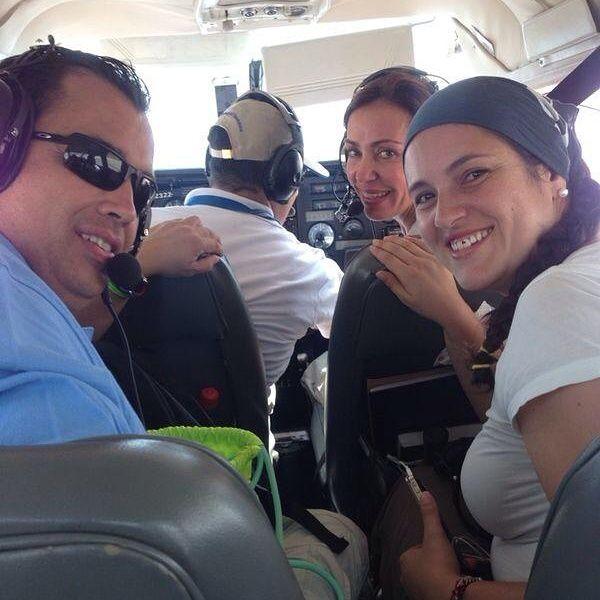 Finalmente en Riohacha y ahora a trabajar con la @PatrullaAerea. Gran brigada 22-23 ago #NiUnoMas debe morir