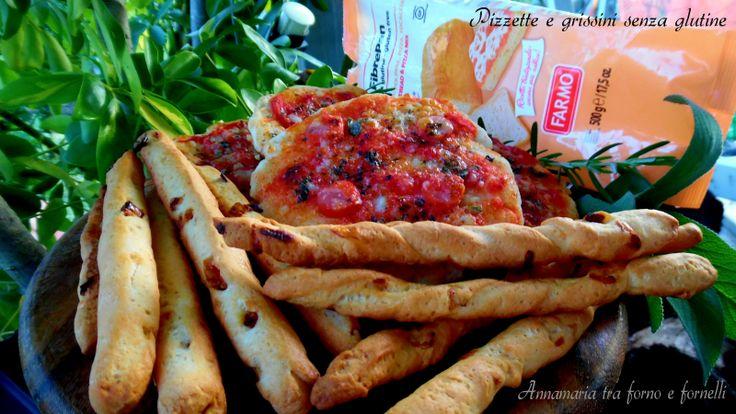 Pizzette e grissini senza glutine Intolleranza Celiachia Lievitati Buffet Antipasti Grissini gustosi aromatizzati con pomodori secchi e cipolla