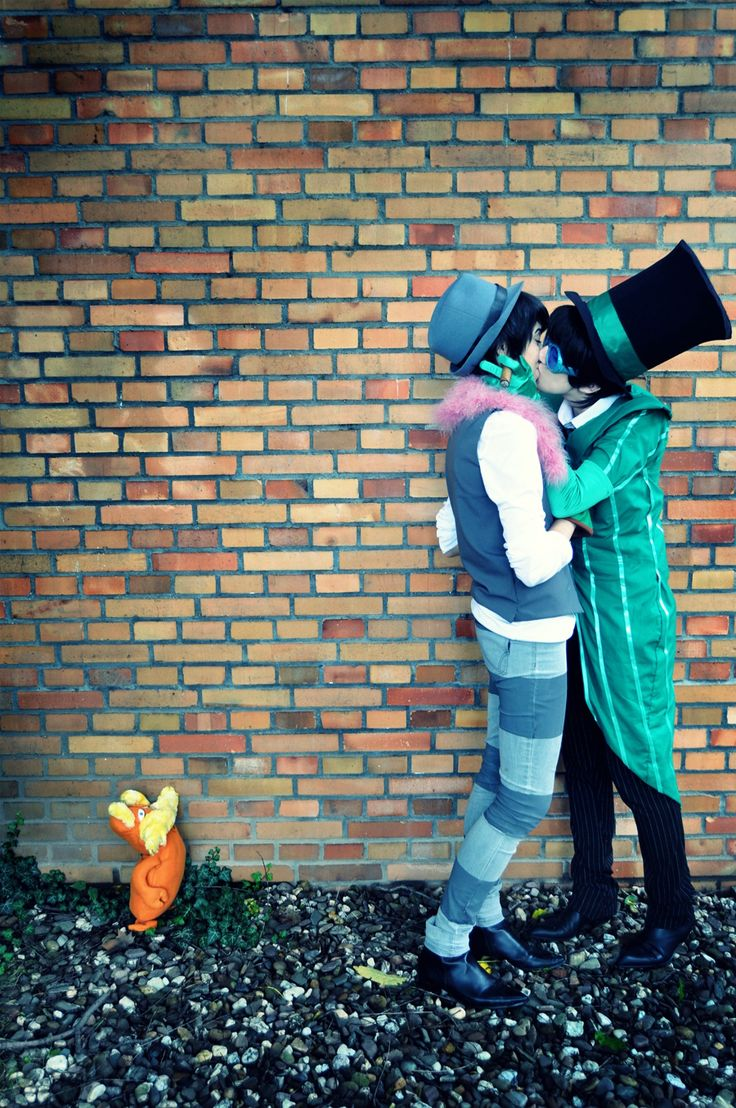 The Lorax Cosplay / Greed-ler x Once-ler (Oncest) ♥ [@ AnimagiC July 2012 Germany ] - Once-ler - Greed-ler - Photographer ______.