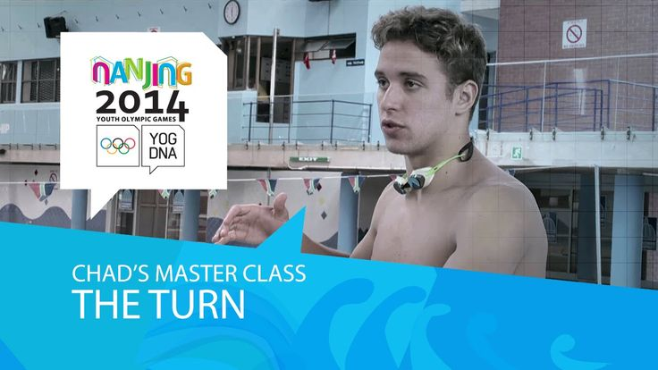 Chad Le Clos' Masterclass - The Turn | Nanjing 2014 Youth Olympic Games