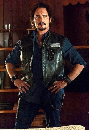Kim Coates as Tig Trager in Sons of Anarchy.