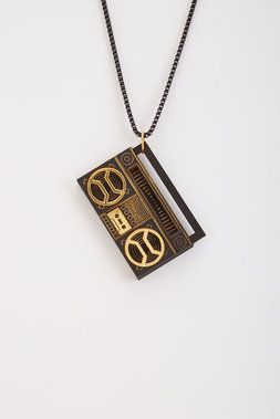 Ghetto Blaster Necklace - GoodWood - Jewelry : JackThreads