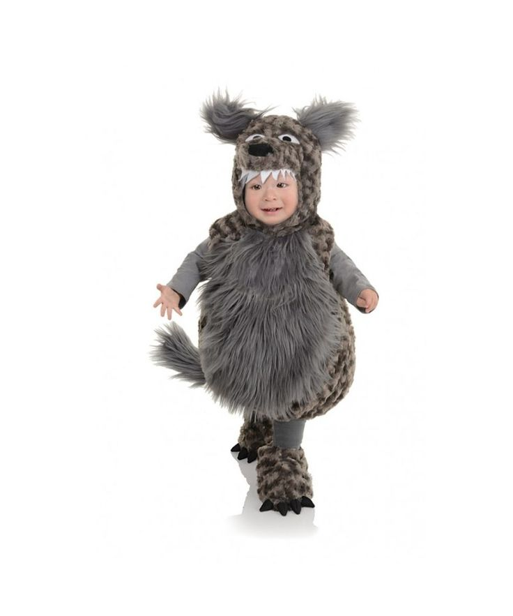 Baby Wolf Costume -  The big bad wolf is thought of to always be in town. However, not all wolves are bad, intimidating or scary.