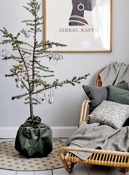 Yarn fine wool dark grey melange - Stoff & Stil