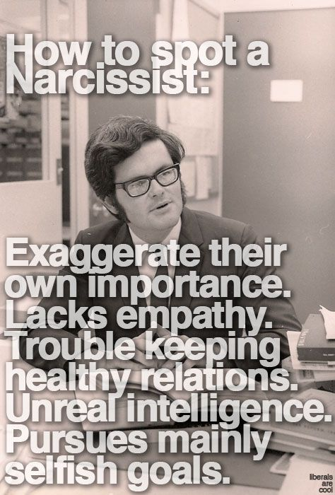 Narcissistic personality disorder (NPD) is a personality disorder[1] in which the individual is described as being excessively preoccupied with issues of personal adequacy, power, prestige and vanity....