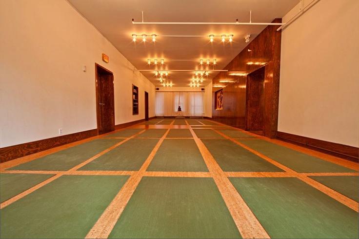 Photo by Dave Hamilton, Front Main Yoga Room