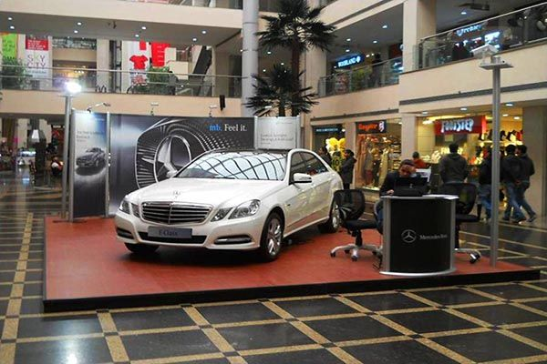 Mall Activation for Mercedes Benz. EDS Middle East is a pioneer in providing Exhibition, Trade show, Conference, Events & Brand Activation Solutions, know about us http://www.insta-group.com/