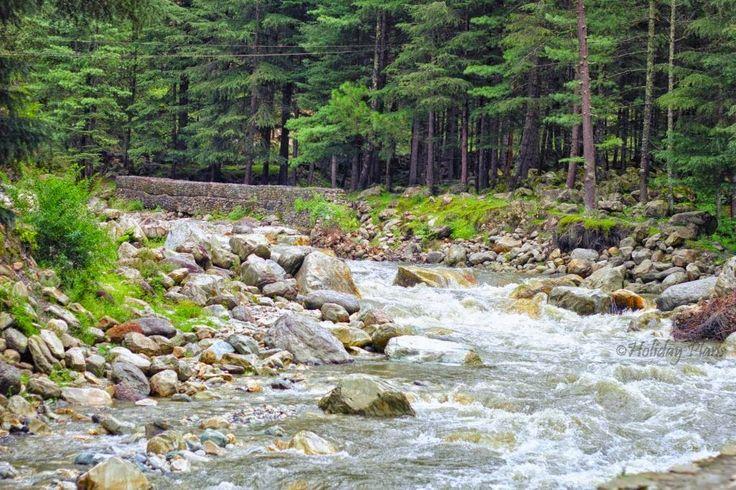 http://planning4holidays.blogspot.in/2015/01/kasol-mini-israel-of-india.html .. Parvati River .. #scenic #valley #parvati #river #untouched #hills #mini #israel #bank #low #population #Himalaya #Sarpass #yanker #pass #Kheerganga #Kasol #Himachal #Pradesh #India #HolidayPlans