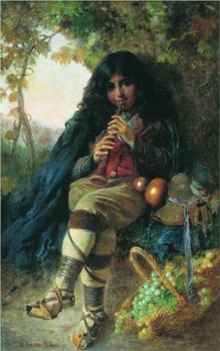 Italian Boy - Konstantin Makovsky