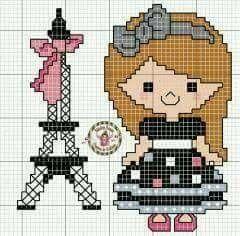 Menina e Torre.