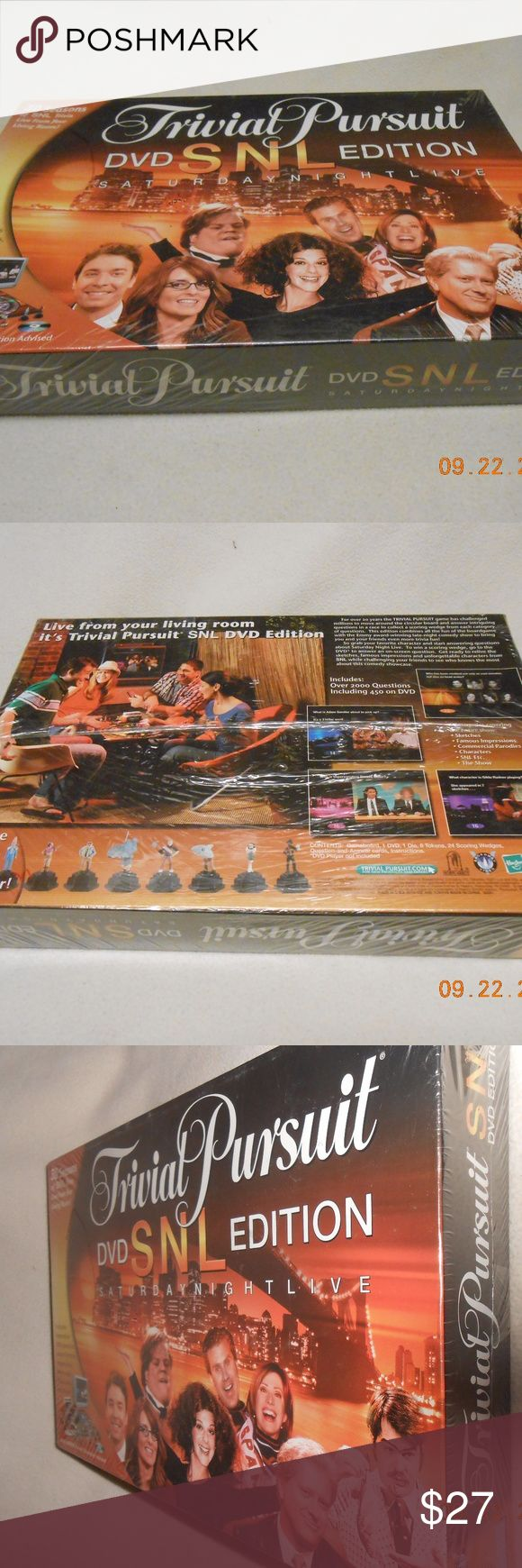Brand New Trivial Pursuit SNL Dvd ED Adult Game NWT