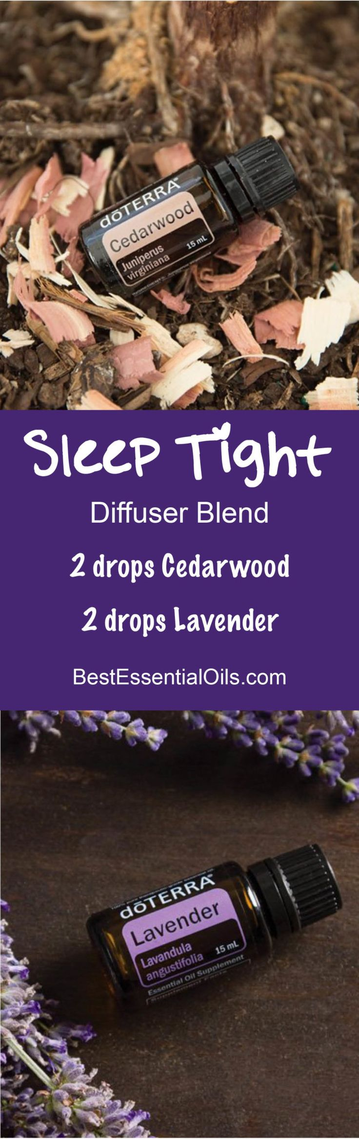 Sleep Tight doTERRA Diffuser Blend