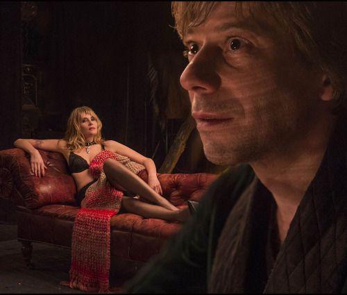 "sala66: ""Mathieu Amalric y Emmanuelle Seigner en ""La Venus de las pieles"", 2013 """