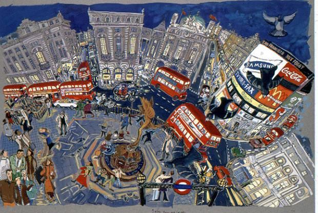 Culture Street   Liz Anelli's Piccadilly Circus