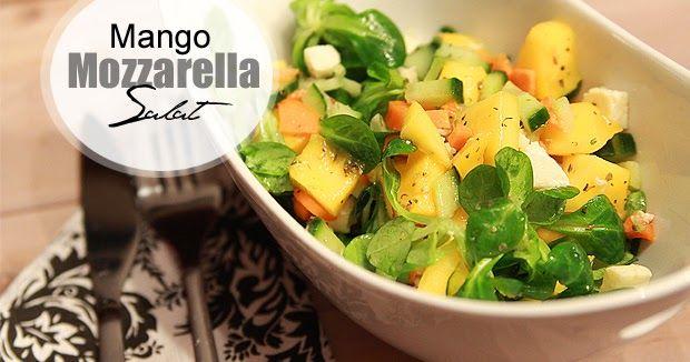 Miss von Xtravaganz - Lifestyle-Beautyblog: [Karottenprojekt] Mango-Mozzarella-Salat