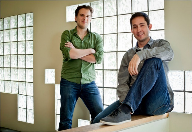 Instagram Co-Founders Cash In $500 Million From Facebook Deal. Read more at http://su.pr/1tT7fh