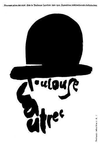 Mieczyslaw Wasilewski, Toulouse-Lautrec plakat wystawowy, 2001