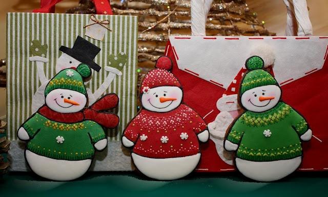 Muñecos de nieve  **