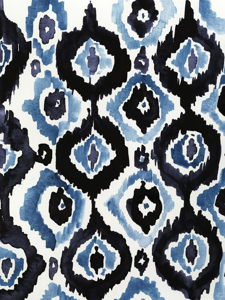 ETC INSPIRATION BLOG DESIGN FOOD ART STAMPA IKAT PRINT BLUES VIRGINIA JOHNSON
