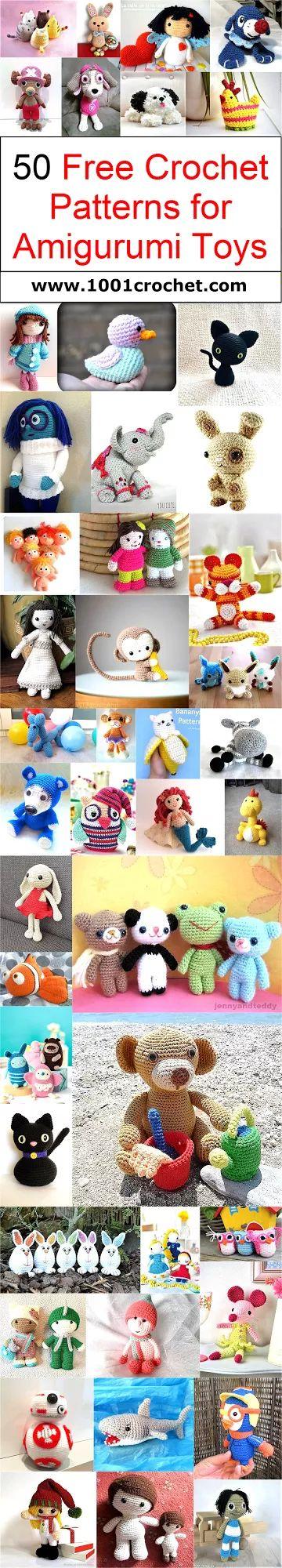 50-free-crochet-patterns-for-amigurumi-toys