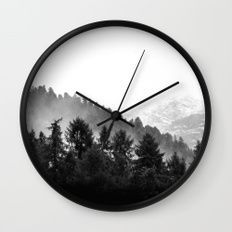 Call Of The Forest (Black and White) Wall Clock by Neptune Essentials on Society6  Home Decor, Wall Decor, Wall Clocks, Hanging Clocks, Minimalist Clocks, Modern Designs, Decor Ideas, Bedroom Decor, Living Room Decor, Kitchen Ideas, Trends, Scandinavian,