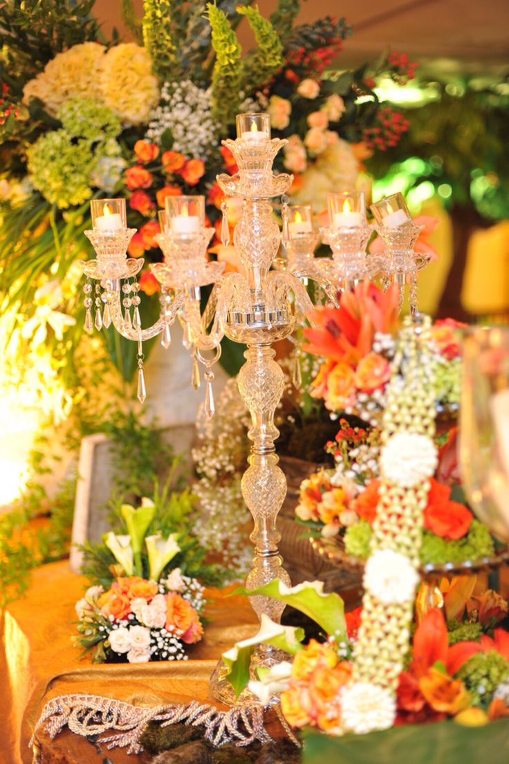 Love this wedding table decorations